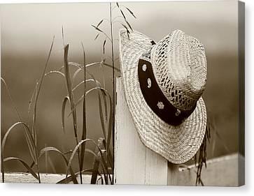 Farmers Hat Canvas Print