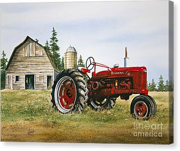 Farmers Heritage Canvas Print by James Williamson