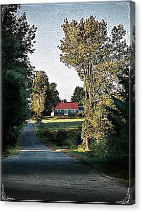 Farmhouse Canvas Print by Joy Nichols