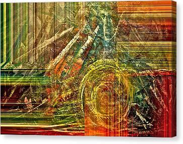 Farming Canvas Print by Gwyn Newcombe
