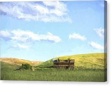 Farming In Washington II Canvas Print by Jon Glaser