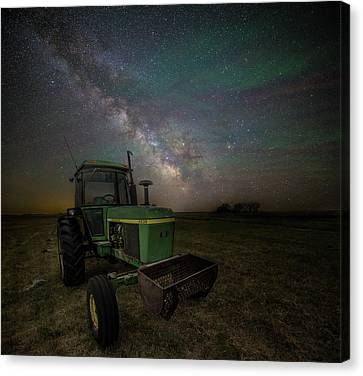 Canvas Print featuring the photograph Farming The Rift 7 by Aaron J Groen