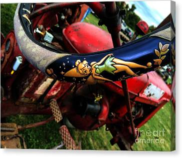 Farming With Tinker Bell  Canvas Print by Steven Digman
