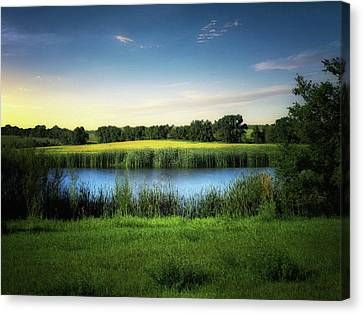Farmland Waters Canvas Print
