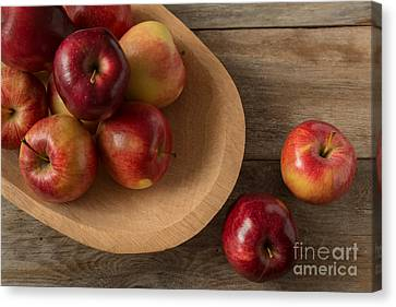 Farmtable Apples Canvas Print