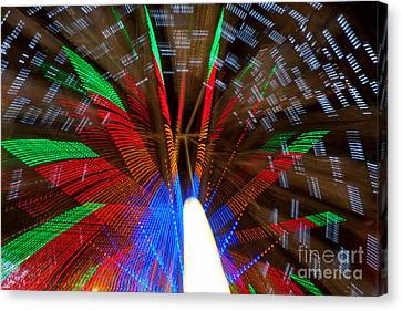Farris Wheel Light Abstract Canvas Print by James BO  Insogna