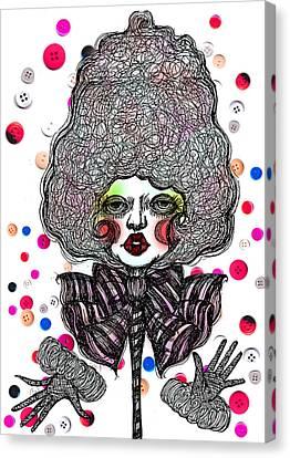 Fashion Doll Canvas Print