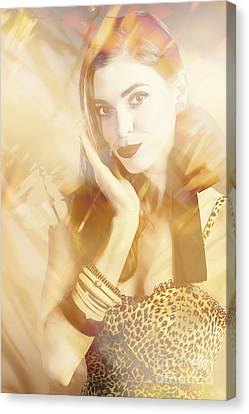 Fashion Reflections Canvas Print by Jorgo Photography - Wall Art Gallery