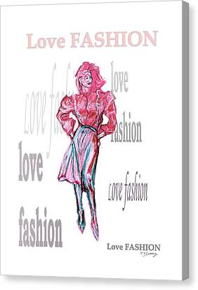 Fashion  Canvas Print by Tom Conway