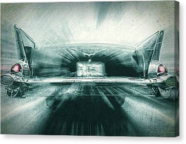 Fast 57' Canvas Print by Marvin Spates