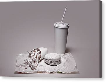 Fast Food Drive Through Canvas Print