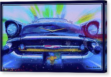 Fast Lane Canvas Print by Marvin Spates