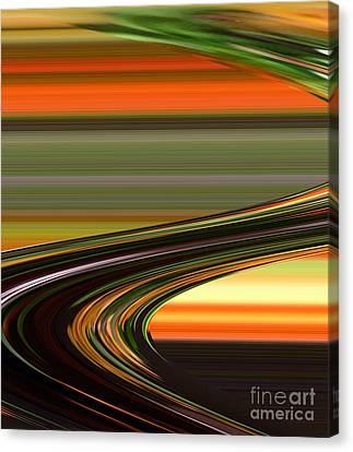 Fast Track Canvas Print by Addie Hocynec