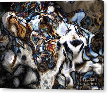 Fat Cat Tote Bag Canvas Print by John Rizzuto