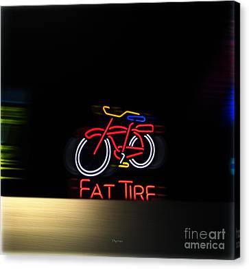 Fat Tire  Canvas Print by Steven Digman