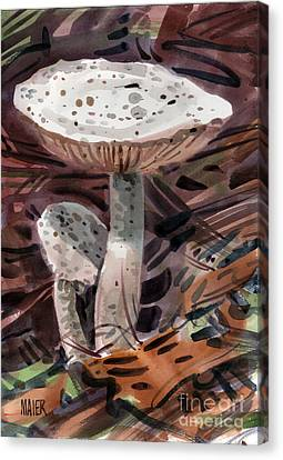 Mushroom Canvas Print - Father And Son by Donald Maier