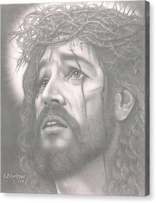 Father Forgive Them Canvas Print by Eduard  Brinkman
