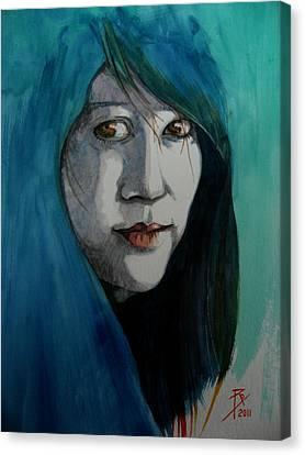 Fatima Canvas Print by Ray Agius