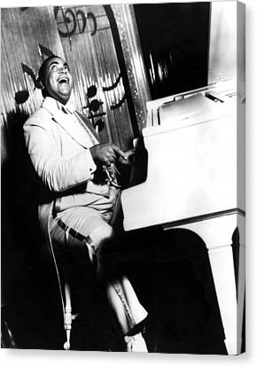 Fats Waller, Real Name Thomas, Photo Canvas Print by Everett