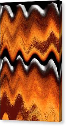 Fault Finding Canvas Print by Kellice Swaggerty