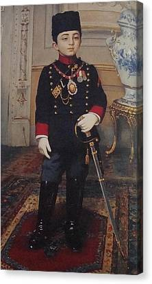 Poster Canvas Print - Fausto Zonaro Little Pasha by Eastern Accents