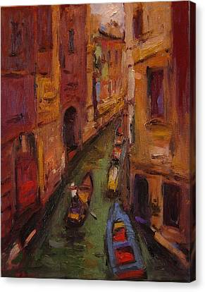 Fauvo Venice Canvas Print by R W Goetting