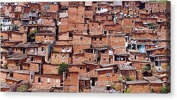 Favelas De Salvador Canvas Print by Jorge Berlato