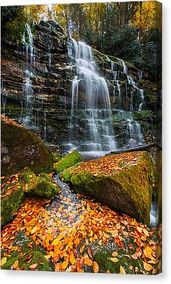 Canvas Print featuring the photograph Favorite Time Of Year by Bernard Chen