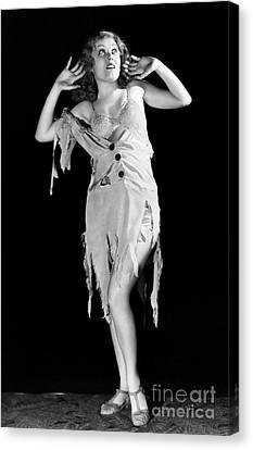 Fay Wray (1907-2004) Canvas Print by Granger