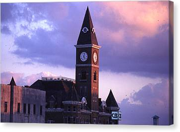Fayetteville Courthouse Canvas Print
