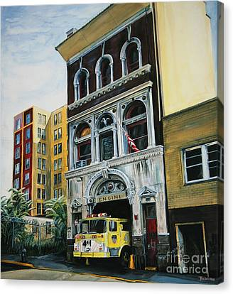 Fdny  Engine Company 41 Canvas Print by Paul Walsh