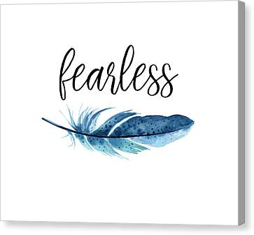 Fearless Canvas Print by Jaime Friedman