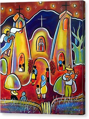 Feast Day Celebration Canvas Print