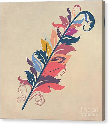 Feathers Canvas Print - Feather by John Edwards