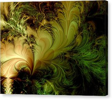 Feathery Fantasy Canvas Print