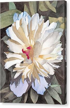 Feathery Flower Canvas Print