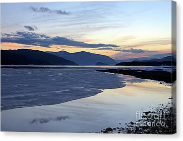 February At Dusk 5 Canvas Print by Victor K