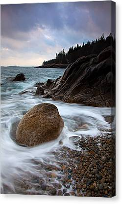 February Tides Canvas Print