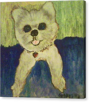 Fed Ex Doggie Canvas Print