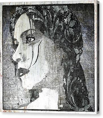 Federica Classic Silver Italy Canvas Print by Tony Rubino