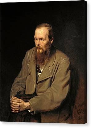 Fedor Dostoyevsky Canvas Print