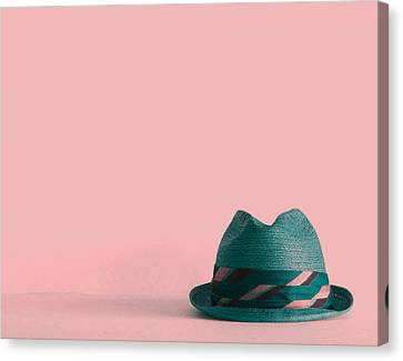 Fedora  Canvas Print by Colleen VT