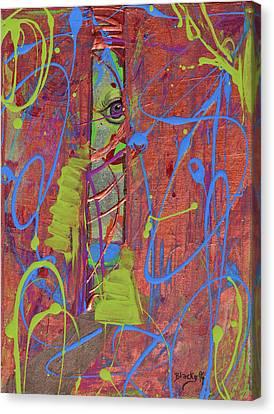 Feeling Alienated Canvas Print