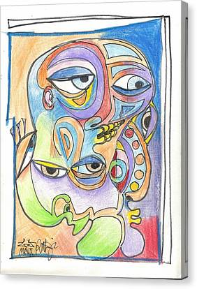Feeling Picasso Canvas Print