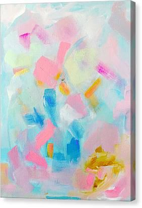 Abstract Canvas Print - Feels Like My Birthday by Jazmin Angeles