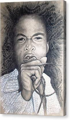 Fela  For Ever Lives Afrika Canvas Print by Bankole Abe