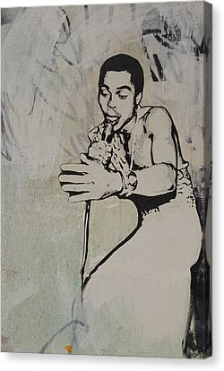 Fela Kuti Canvas Print by Dustin Spagnola