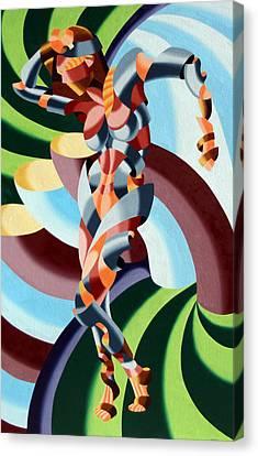 Felicia A Go-go Canvas Print