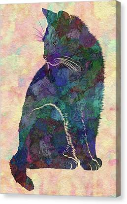 Bobcat Kittens Canvas Print - Feline by Jack Zulli