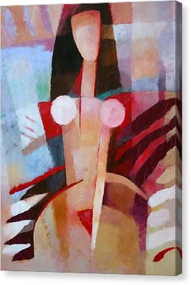 Female Impression Canvas Print by Lutz Baar